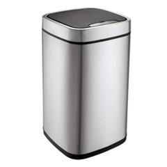宜可/EKO 臻美系列自动感应垃圾桶 9288MT 9L 砂钢色 灰色