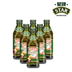 星牌原瓶原装进口特级初榨橄榄油500ML*6