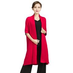 CELLE西琳时尚休闲针织大衣  货号121135