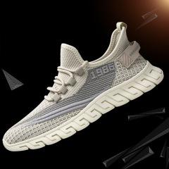 2020新款男士轻便耐磨休闲鞋男士运动鞋系带学生跑步鞋男春夏单鞋