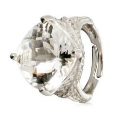 Chateau白水晶戒指 货号109625