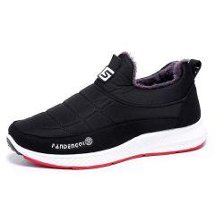 老北京布鞋男女同款款棉鞋冬季高帮加绒保暖男鞋防滑加厚