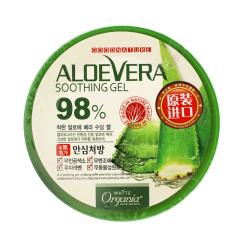 韩国原装进口施姈欣果芦荟舒缓保湿凝胶300g