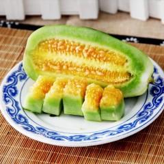 【新鲜水果】山东博洋9号甜瓜 2.6-2.8斤装 约3-5根