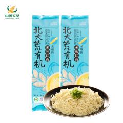 【中国农垦】北大荒 亲民食品有机挂面 龙须面360g*3袋