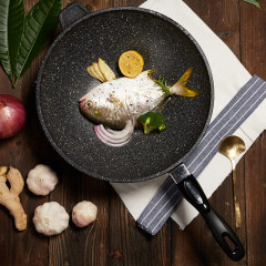 SIRONI-意大利进口磐石不粘锅32CM磐石复底主厨系列系列铸造锅