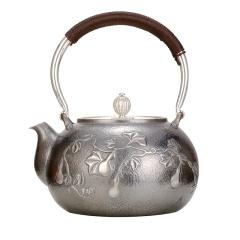 中国白银福禄满堂银壶珍藏