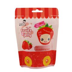 韩国进口帕克大叔草莓味果汁软糖42g
