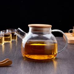 鼎匠 茶具 泡茶器耐热杯具玻璃套装茶壶 杯具套装 一壶六杯茶具七件套