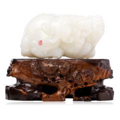 汇玉源羊脂玉貔貅孤品典藏950