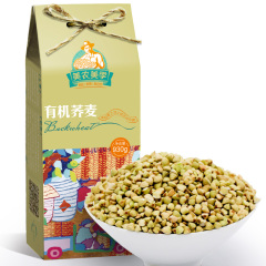 美农美季 东北五谷杂粮有机荞麦粗粮荞麦仁荞麦粒三角麦新米可煮粥煲饭930g