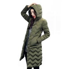 清仓  中长款大口袋韩版女装棉服822-原价239现179
