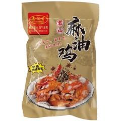 【地方美味】山东蒙山麻油鸡 600g*2袋(每只都是整鸡 拒绝拼装)
