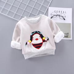 菲儿小屋  005411企鹅韩版1~3岁婴幼童不连帽 秋冬加厚卡通企鹅/树袋熊/熊耳朵/猫耳朵