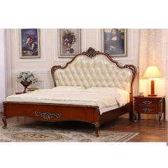 富阁欧式奢华实木卧室系列套组 货号121141