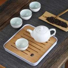 福辰 旅行户外功夫陶瓷茶具套装茶杯