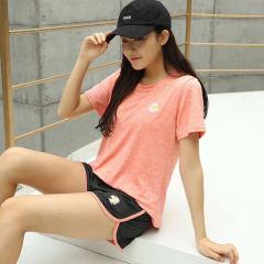 夏季小雏菊速干衣套装网红瑜伽服健身房跑步女宽松显瘦运动套装