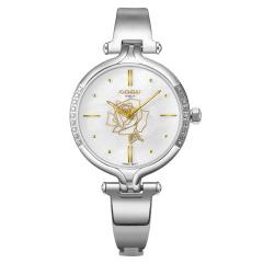 COGU手表女正品石英表女表玫瑰金时尚潮流手镯腕表防水手链表镶钻