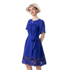 DS菲娅刺绣时尚连衣裙