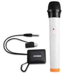 韩国现代无线麦克风 头戴式网络电脑K歌会议家用卡拉OK话筒