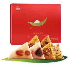 阖家尊礼粽子礼盒1510g富含7种口味