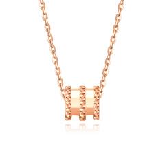 简尊珠宝 S925银小蛮腰项链 1802