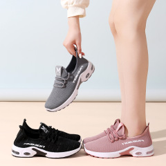鞋子女2021春季新款休闲鞋透气轻便跑步鞋防滑舒适耐磨运动鞋女M10