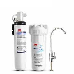 3M 家用大流量直饮高端厨房净水器BEV120 白