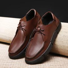男式休闲单鞋 秋冬新款男士工装鞋