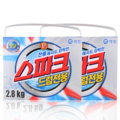 韩国原装进口爱敬强力冷水专用洗衣粉2盒装