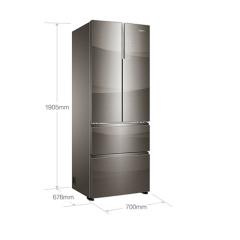 卡萨帝(Casarte)四门多门对开门变频无霜冰箱 BCD-435WDCAU1