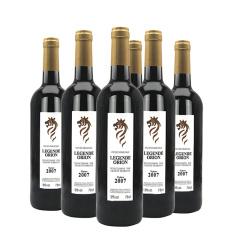 法国原瓶进口圣奥诺雄狮干红葡萄酒750ml*6