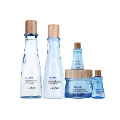 韩国进口 得鲜The Saem冰岛补水保湿套盒 水乳面霜