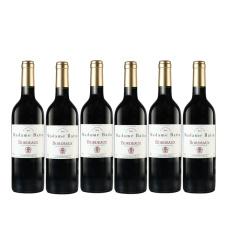 法国巴图太太波尔多干红葡萄酒六支装 750ml*6