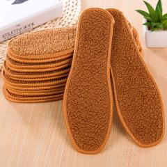 驼绒鞋垫 保暖鞋垫 冬季干爽 加厚除臭防臭 舒适男女式绒毛棉鞋垫