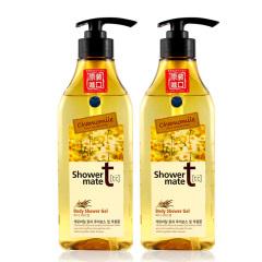 韩国原装进口爱敬香草沐浴液2瓶装