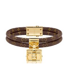 Louis Vuitton/路易威登 经典花纹老花色手镯/手环 19号 M6154E