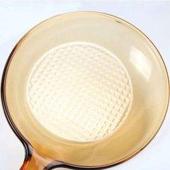 美国 康宁(VISIONS)晶彩透明单柄煎锅24cm VSS9·琥珀色