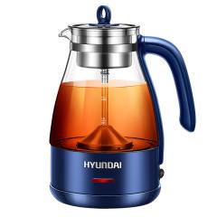 HYUNDAI韩国现代QCZC1127煮茶器蒸汽黑茶壶煮茶壶养生壶