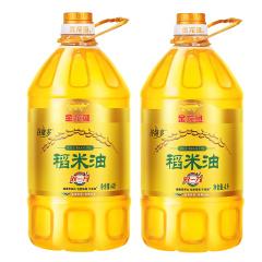 金龙鱼稻米油4L*2