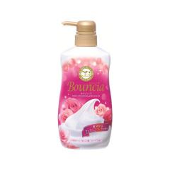 日本COSME大赏COW牛乳石碱玫瑰香型沐浴露550ml
