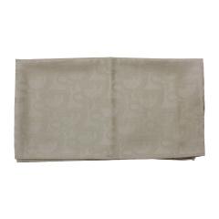 DIOR迪奥 女士Dior暗花经典款浅金色羊毛围巾