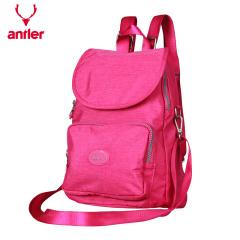 antler/安特丽双肩背包防水旅行休闲书包潮流超轻帆布运动包 A7024119