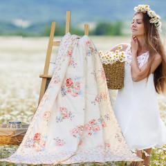 【购买就送冰丝凉席150*200CM】VIPLIFE家纺 全棉被面空调被夏被纯棉夏凉被