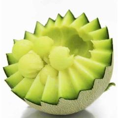 山东 网纹瓜 现摘现发 新鲜当季水果 2个装 (约4.5-5斤)