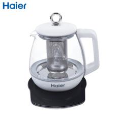 海尔(Haier) 铂睿S1A养生壶 高硅硼玻璃 高品质温控器 304不锈钢 12小时预约 电水壶