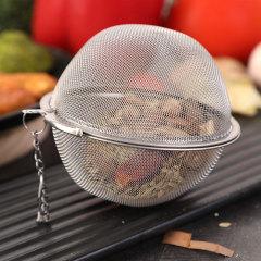 不锈钢调味球 卤料球炖肉(大球小球各一个)