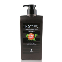 韩国原装进口爱敬可希丝男士头皮护理洗发香波550ml