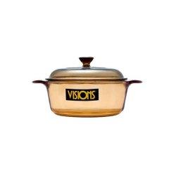 康宁 (VISIONS) 晶彩透明锅 VS12·琥珀色