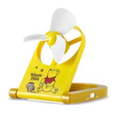 迪士尼(Disney)USB折叠电风扇DSN-FM05B 黄色  可折叠
